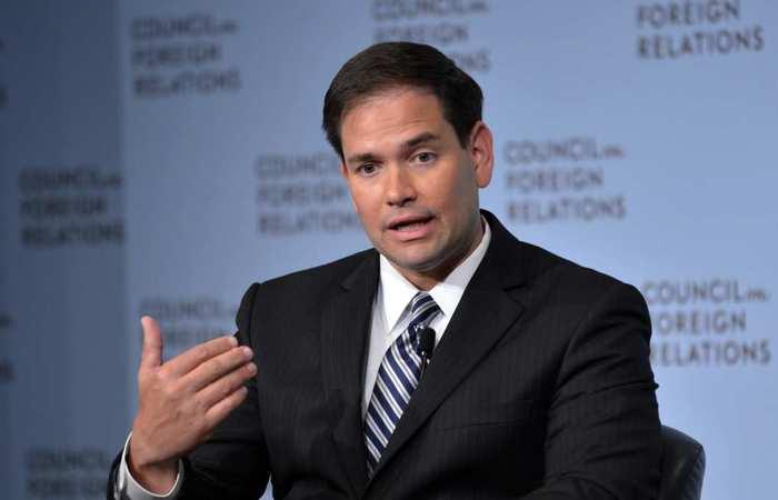 O republicano Marco Rubio é um dos senadores americanos que enviou o documento ao secretário Steven Mnuchin - Foto: AFP.
