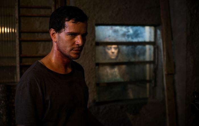 O filme se perde um pouco ao apostar nesse potencial da assombração. Foto: Pagu Filmes/Divulgação