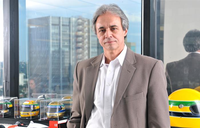 Atualmente, Mozart é diretor de Articulação e Inovação do Instituto Ayrton Senna. Foto: Juan Guerra/Instituto Ayrton Senna.
