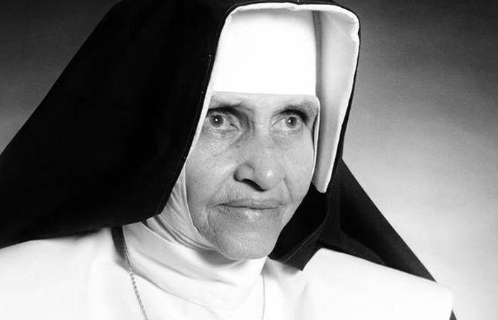 Maria Rita de Sousa Brito Lopes Pontes, conhecida como Irmã Dulce, nasceu em 1914, em Salvador. Foto: Senado Federal/Divulgação.