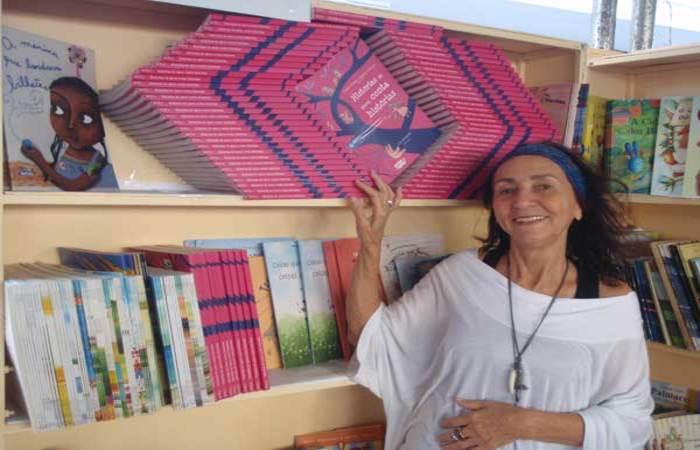 Lenice Gomes viaja o mundo compartilhando. Crédito: Divulgação