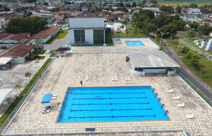 Sesc de Goiana (foto) é um dos locais com atividades especiais pelo Dia do Comerciário. Foto: Divulgação/Sesc.