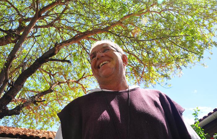 Padre Airton, fundador da Fundação Terra. Foto: Bruna Monteiro Acervo DP/D.A Press.