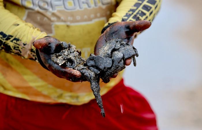Em Pernambuco, nove praias foram atingidas pelo óleo - Foto: Tarciso Augusto/DP Foto