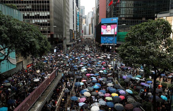 Foto: Reuters / Tyrone Siu/Direitos reservados