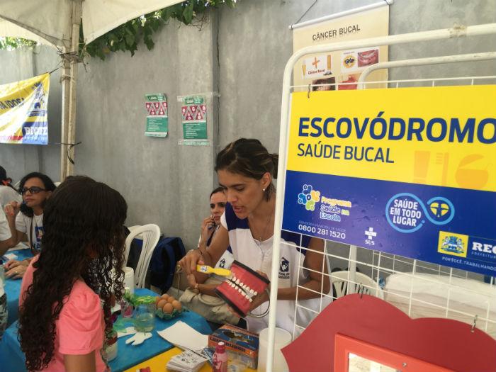 Foto: Secretaria de Saúde do Recife/Divulgação.