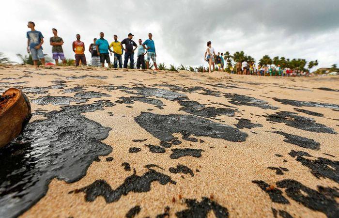 Ibama diz que 72 municípios tiveram praias afetadas. Fotos: Felipe Brasil/Fotos Públicas