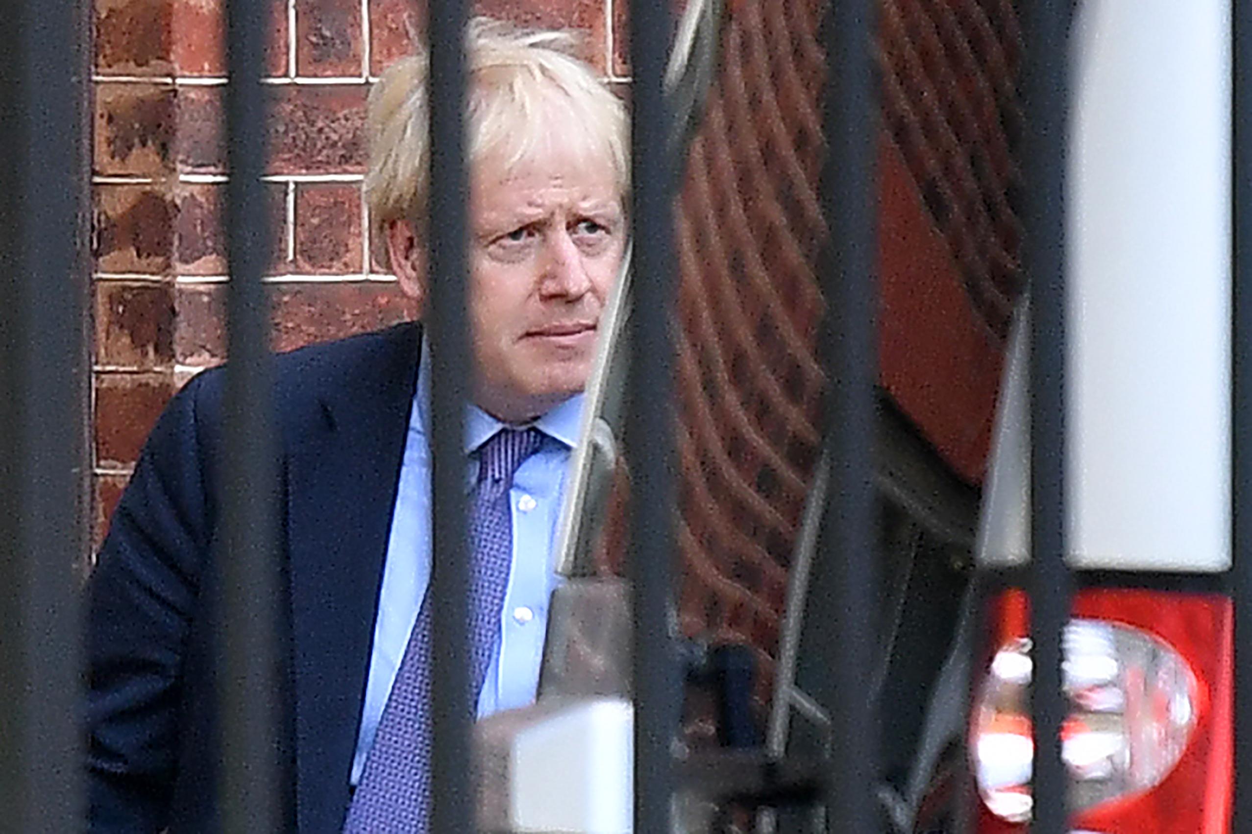 Boris Johnson, primeiro-ministro britânico. (Foto: Daniel Leal-Olivas/AFP)