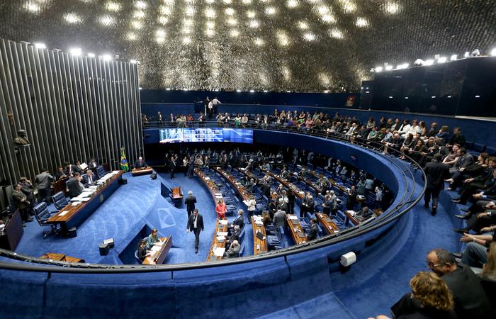 Plenário do Senado (Wilson Dias/Agência Brasil)