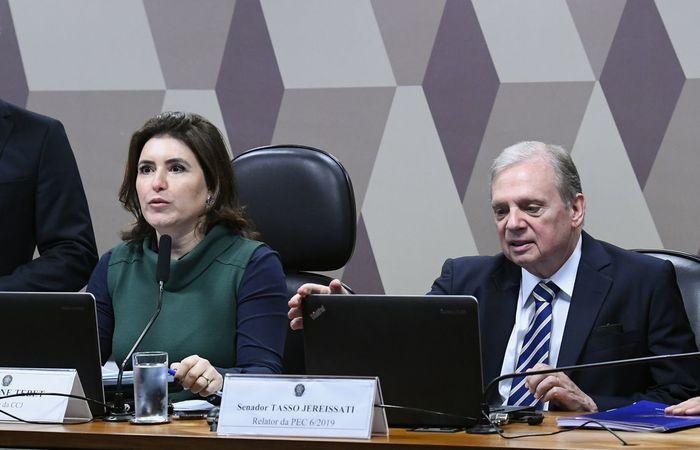 O relatório aprovado é do senador Tasso Jereissati. (Foto: Geraldo Magela/Agência Senado )