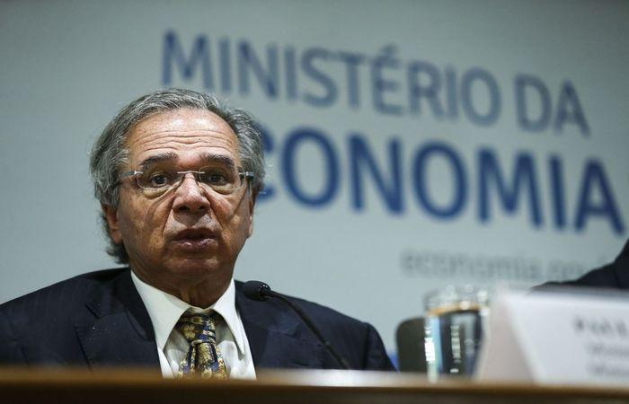 O ministro da Economia Paulo Guedes (Foto: José Cruz/Agência Brasil )