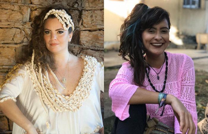 A cantora Karynna Spinelli e produtora Nathália Santos participarão do debate compartilhando experiências profissionais. Fotos: Divulgação