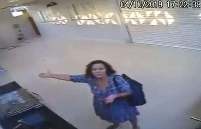 Vídeo de câmera de segurança viralizou nesta segunda-feira (28/10); chuva de memes e busca por respostas tomaram as redes sociais ((Foto: Reprodução/Redes sociais))