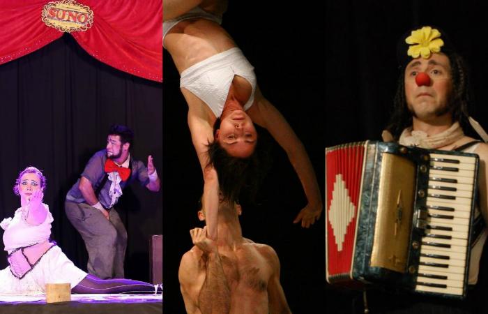 Espetáculos de Cia Suno (SP), Cia LaMala (SP) e Clap Clap (URU). Foto: Divulgação