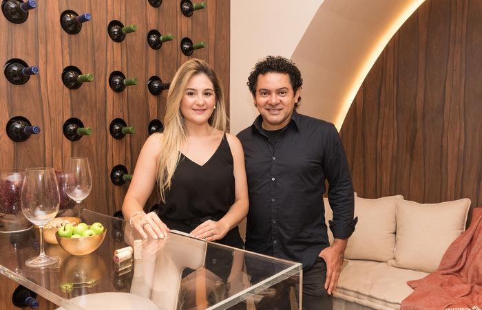 Arquitetos Carol Azevedo e José Roberto Gouveia. Foto: Bruna Costa / Esp. DP Foto