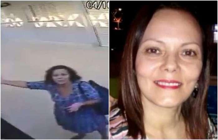 O nome da mulher é Marilene. A advogada conversou com o programa Se Joga, da Rede Globo, e confessou que estava distraída pensando no trabalho depois de uma aula de hidroginástica (foto: Reprodução/Twitter - Reprodução/TVGlobo)