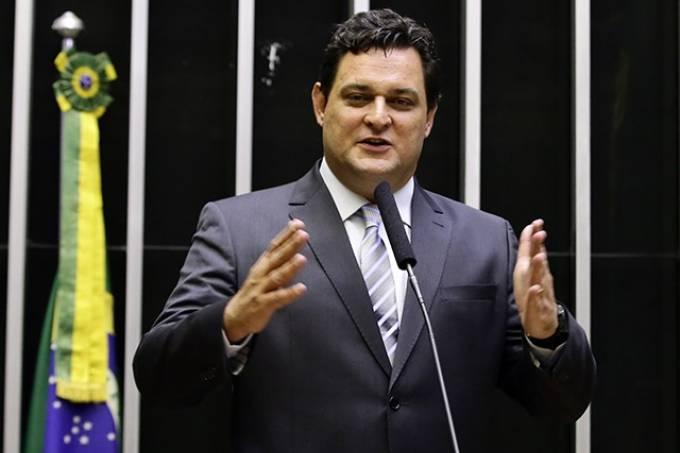 O deputado Geninho Zuliani (DEM-SP) é relator do marco legal do saneamento. (Foto: Câmara dos Deputados)