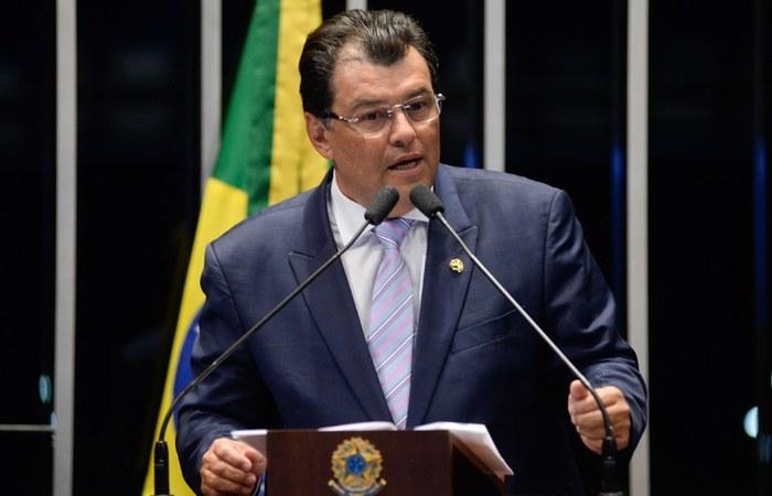 O líder do MDB, Eduardo Braga (AM), será o autor da proposta. (Foto: Jefferson Rudy/Agência Senado)