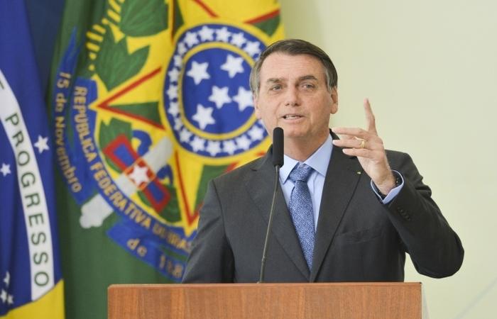 """""""Vamos fazer o Brasil entrar nos trilhos"""", disse o presidente. (Foto: Marcelo Camargo/Agência Brasil)"""