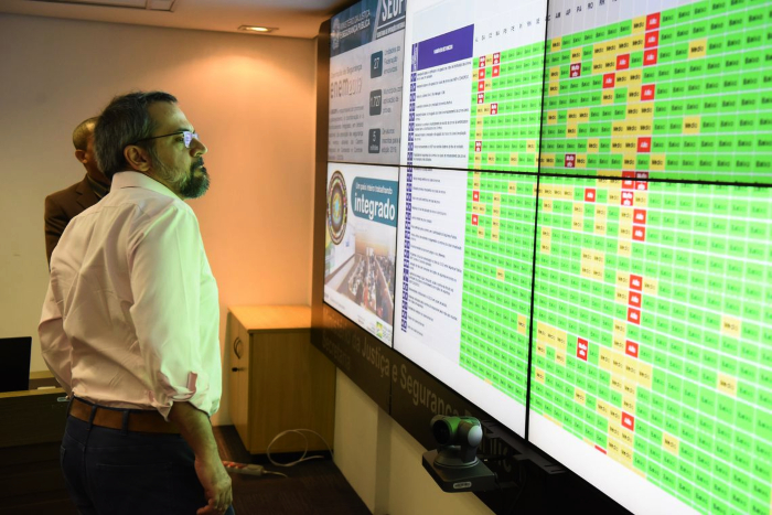 Ministro garantiu que responsável por vazamento será punido. (Foto: Luis Fortes/MEC .)