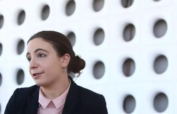 Lindsay Gorman, especialista em tecnologias em inteligência artificial, Big Data, 5G e cibersegurança da Alliance for Securing Democracy fala sobre os desafios da novidade no mercado brasileiro (Ana Rayssa/CB/D.A Press)