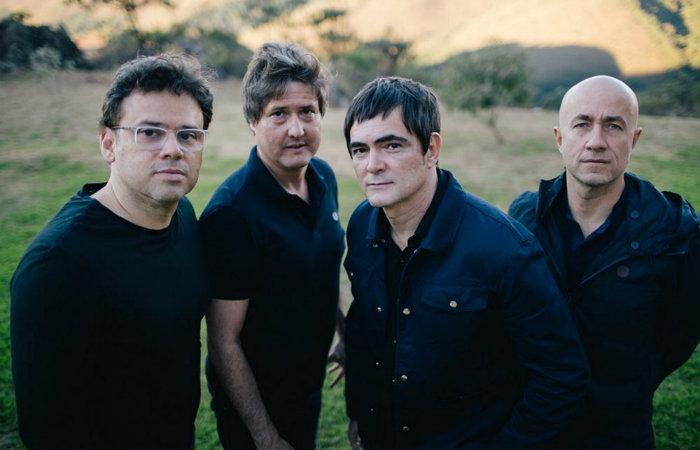 Henrique Portugal, Lelo Zaneti, Samuel Rosa e Haroldo Ferretti tocam juntos desde os primórdios da banda. Foto: Diego Ruahn/Divulgação