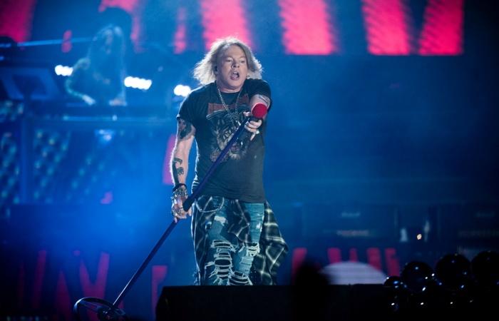 Guns N' Roses e Lana Del Rey são os destaques de 3 de abril (Foto: MADS JOAKIM RIMER RASMUSSEN/AFP)