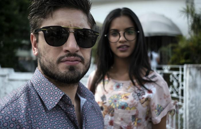 Daniel Rocha e Rayza Alcantara em cena. (Foto: Divulgação)