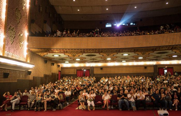 (A abertura do festival foi com sessão lotada no Cinema São Luiz. Foto: Victor Jucá/Divulgação.)