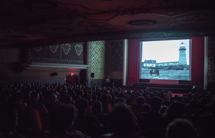Exibição do filme O Farol.  (Foto: Victor Jucá/Divulgação)