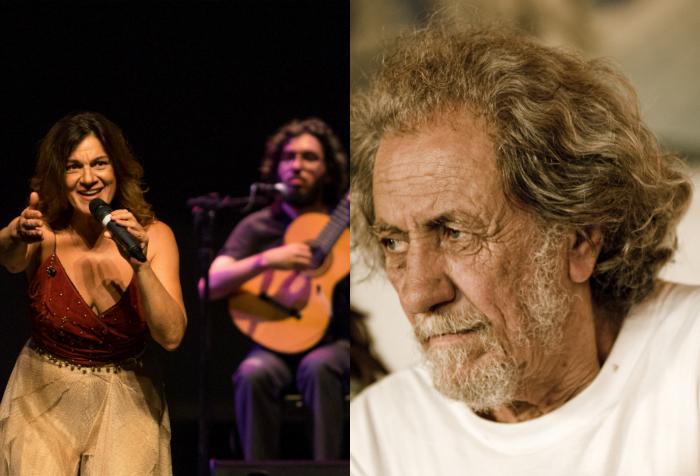 Titane e Elomar. Foto: Luiza Palhares e Kika Antunes/Divulgação
