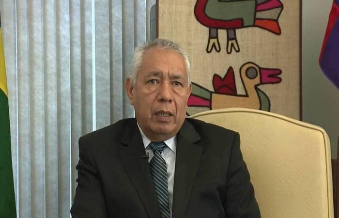 Na Câmara, o embaixador Franco descartou a hipótese de fraudes nas eleições presidenciais (Foto: Reprodução/Youtube)