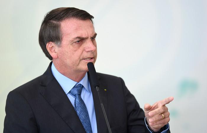 Bolsonaro comunicou nesta terça-feira a deputados aliados que vai deixar o PSL para fundar um novo partido. (Foto: Evaristo Sá/AFP)