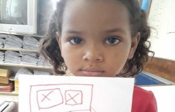 Kethellen é a sexta criança morta por disparo de arma de fogo no estado do Rio de Janeiro em 2019 (Foto: Reprodução/Arquivo Pessoal )