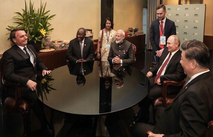 Os dois líderes defenderam o aprofundamento do comércio internacional para haver desenvolvimento.  (Foto: Marcos Corrêa/PR)