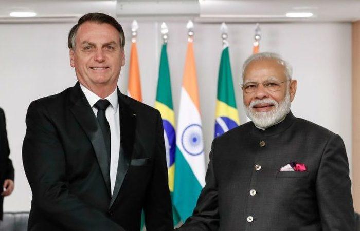 Bolsonaro confirmou a primeiro-ministro indiano visita à Índia (Foto: Alan Santos/PR)