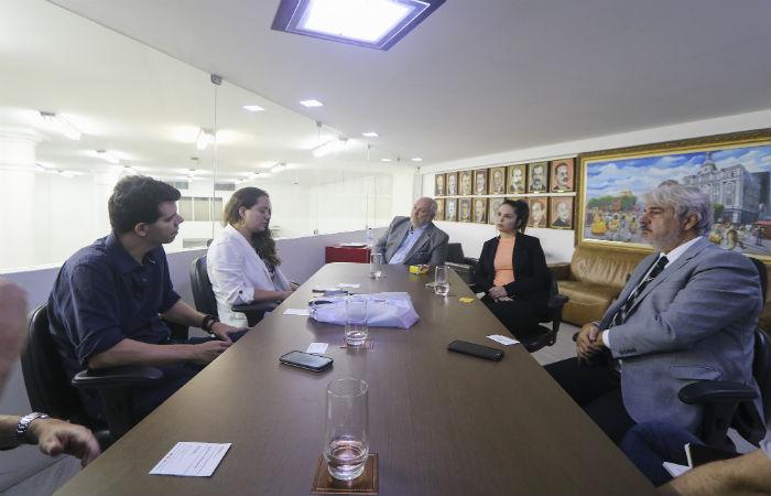 Evento foi apresentado à diretoria do Diario de Pernambuco. (Foto: Tarciso Augusto / Esp. DP Foto)