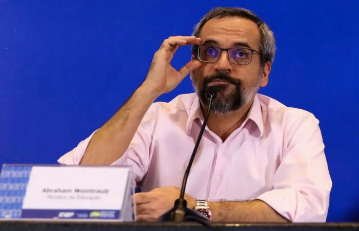 O ministro da Educação, Abraham Weintraub. (Foto: Wilson Dias/Agência Brasil)