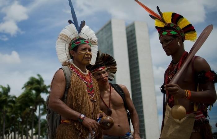 De acordo com informações da Funai, o documento prevê a união de esforços para facilitar o acesso dos indígenas à documentação básica (Foto: Marcelo Camargo/Agência Brasil)