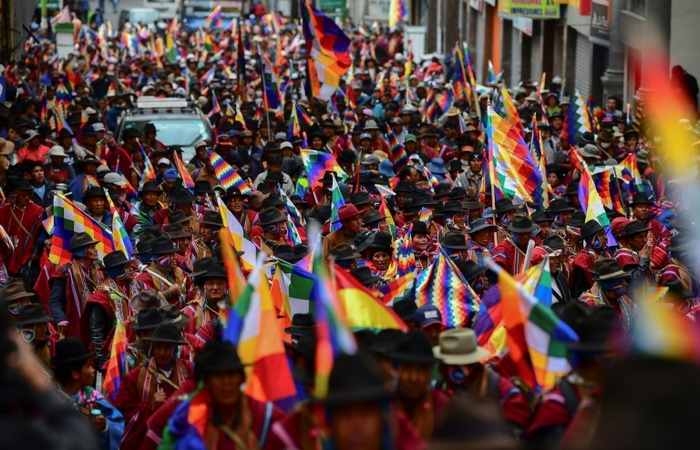 O desbastecimento atingiu fortemente as cidades de La Paz e El Alto. (Foto: Arquivo / AFP )