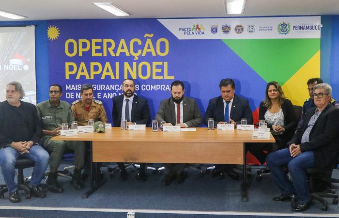 Operação Papai Noel foi divulgada nesta quinta-feira (21), em coletiva promovida pela SDS. (Foto: Tarciso Augusto/Esp. DP.)