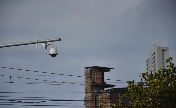 O videomonitoramento começou a ser utilizado no Recife em maio de 2017. (Foto: Cristiane Silva/Arquivo DP.)
