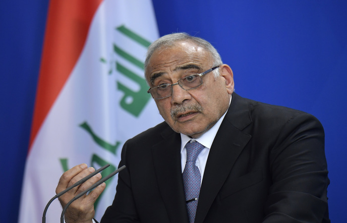 Adel Abdul Mahdi.  (Foto: TOBIAS Schwarz/AFP )