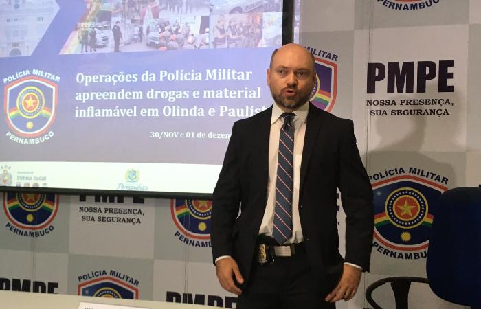 """""""O que posso dizer, hoje, é que são condutas isoladas de certas pessoas"""", afirmou o delegado Adyr Almeida. (Foto: Diogo Cavalcante/DP.)"""
