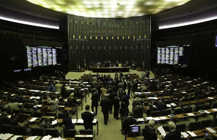O deputado Eduardo Bolsonaro está entre os parlamentares suspensos. Ele ficará um ano fora das atividades do partido (Foto: Fábio Rodrigues Pozzebom/Agência Brasil)