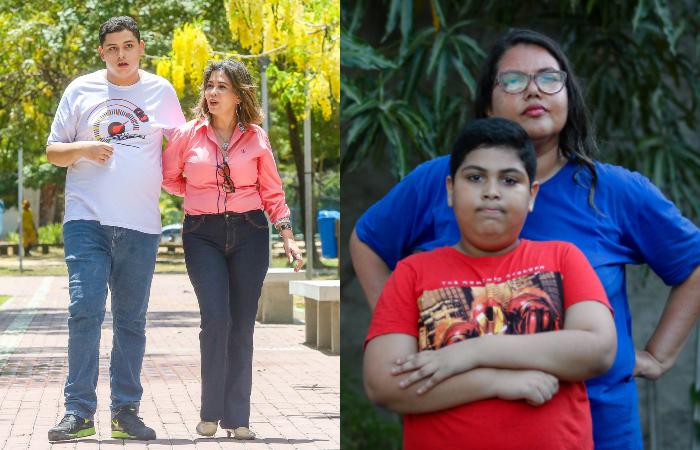 Valéria e Érica: luta incansável por seus filhos (Fotos: Leandro de Santana e Tarciso Augusto / Esp. DP.)