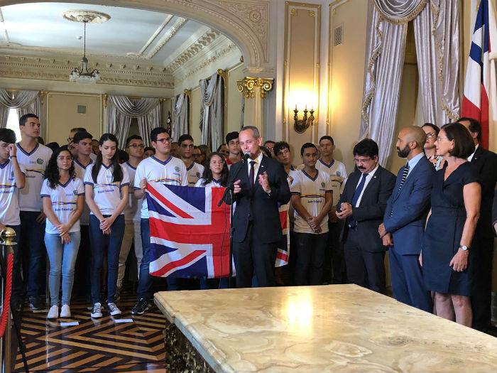 Novidades do programa foram apresentadas nesta segunda-feira, no Palácio do Campo das Princesas. (Foto: Anamaria Nascimento/DP)