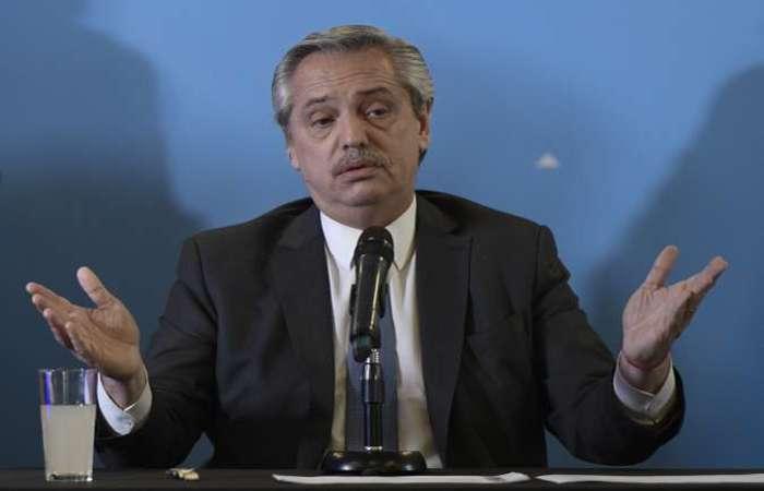 Alberto Fernández assume a presidência da Argentina, um país em plena crise econômica. (Foto: Juan Mabromata/AFP)