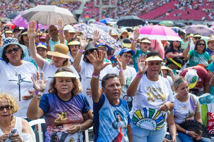 Celebração dos 30 anos da Obra de Maria acontece em janeiro na  Arena Pernambuco. (Foto: Camila Pifano/Divulgação)