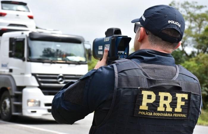 A União foi obrigada a restabelecer integralmente a fiscalização eletrônica por meio dos radares (PRF/Divulgação )